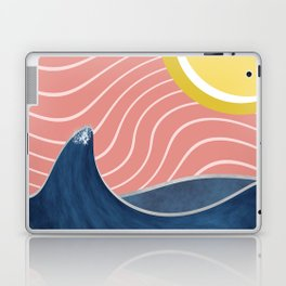 Sun, beach and sea Laptop & iPad Skin
