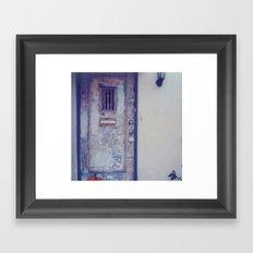 manhattan. Framed Art Print