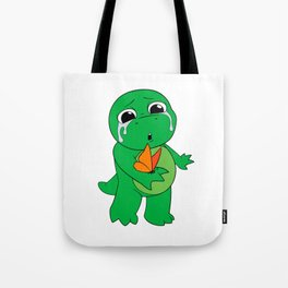 Little Dinosaur, Big Feelings (Flutter) Tote Bag