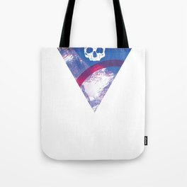 See You In Reno - Skull Mountain Triangle Tote Bag