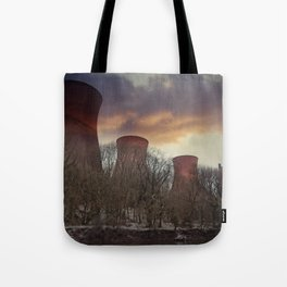Sunset At Ironbridge Power Station Tote Bag