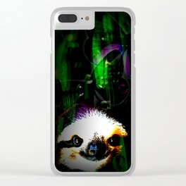 slowly dreaming Clear iPhone Case