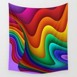 fluid -25- Wall Tapestry