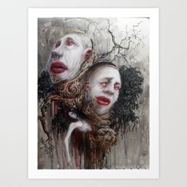 Quarrels and Lullabies Art Print