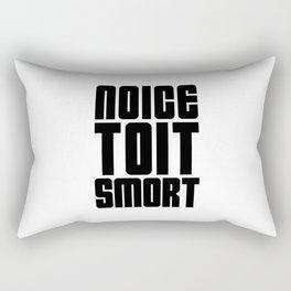 Noice Toit Smort ( B99 MEMES ) Rectangular Pillow