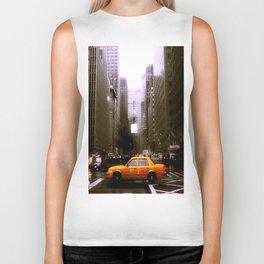 Yellow City Cab Biker Tank