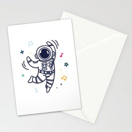 Cheerful Dance Stationery Cards