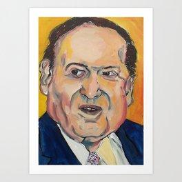 Taliban Republican: Sheldon Adelson Art Print