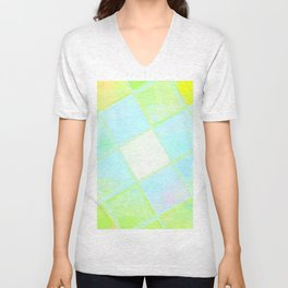 Re-Created Mirrored SQ LXX by Robert S. Lee Unisex V-Neck