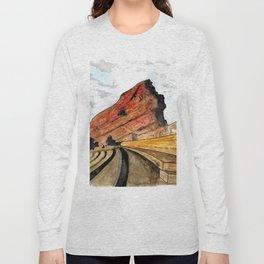 Red Rocks 2016 Long Sleeve T-shirt