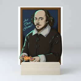 Art Thou Game? (Captioned, Framed) Mini Art Print