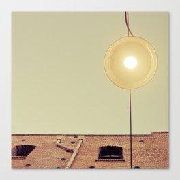 Under the Street Lamp Canvas Print