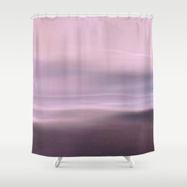 Seascape magenta Shower Curtain