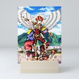 San Miguel Arcangel Mini Art Print
