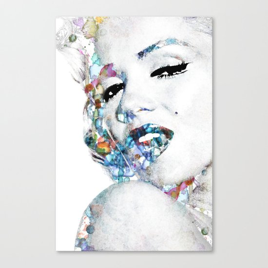 Marilyn Monroe (NOW WITH MORE SIZES) Canvas Print
