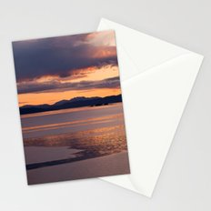 The last exertion before the fall Stationery Cards