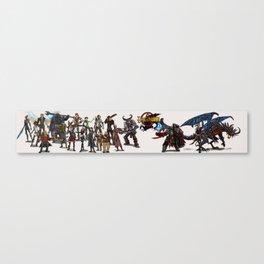 Dragon Lands Canvas Print