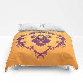 Wow Crest Comforters