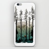 tennessee iPhone & iPod Skins featuring Tennessee Mist by Derik Hobbs Illustration