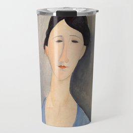 "Amedeo Modigliani ""Young Woman in Blue"" Travel Mug"
