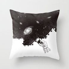 SOLVING THE BIG PUZZLE Throw Pillow