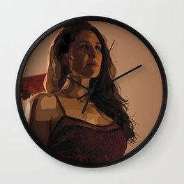 Calm Before the Storm Wall Clock