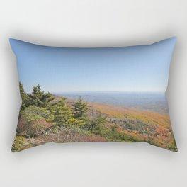 Autumn Alpine Landscape, Vertical Rectangular Pillow