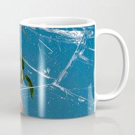 Freezing Over Winter Roses Coffee Mug