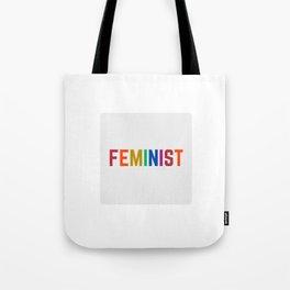 FEMINIST RAINBOW Tote Bag