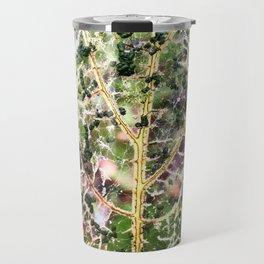 Lace Leaf Travel Mug