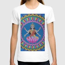 Goddess Lakshmi Mandala T-shirt