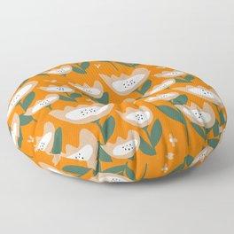 Poppies O Floor Pillow