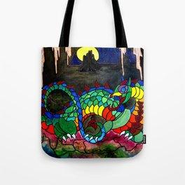 Draco, Dragon of the North Tote Bag