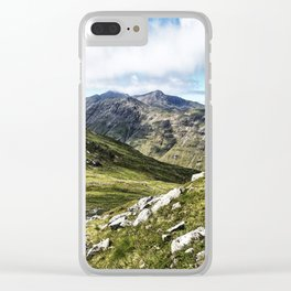 Glencoe Pass II, Scotland Clear iPhone Case