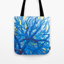 Morning at Whittier Narrows Wilderness Tote Bag
