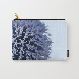 Monochrome - Starry night on the thistle globe Carry-All Pouch