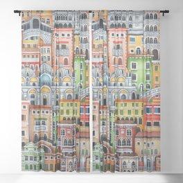 Venice, Italy Sheer Curtain