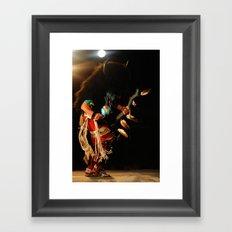 Buffalo Dancer Framed Art Print
