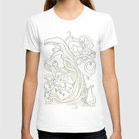 lime T-shirts featuring Lime Tree by KATIE PAYNE