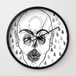 Suck it up Wall Clock