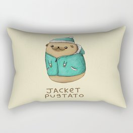 Jacket Pugtato Rectangular Pillow