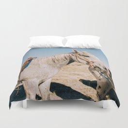 Desert Equestrian Duvet Cover