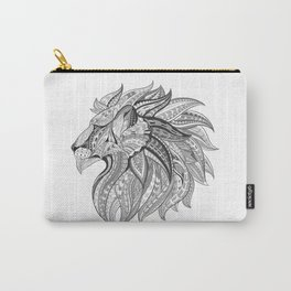 Ethnic Tribal Lion Doodle 02 Carry-All Pouch