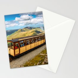 Mountain Train Snowdon Wales Stationery Cards
