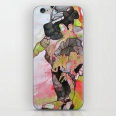 Dino-man iPhone Skin