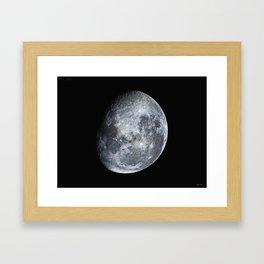 Moon scape Framed Art Print
