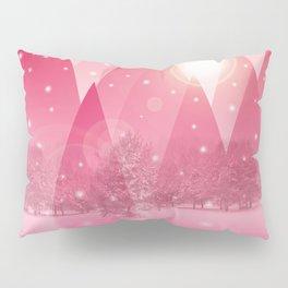 Magic winter pink Pillow Sham