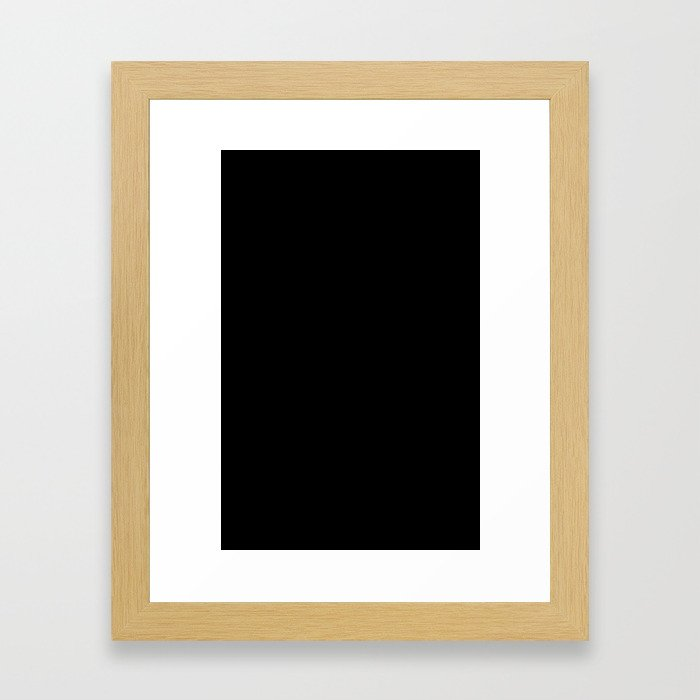 001 Framed Art Print