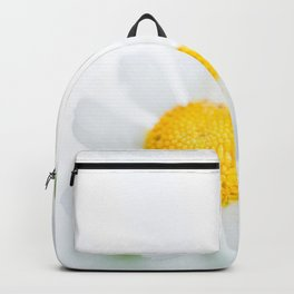 Fine Art Yellow and Green Photograph of Daisies, Flower Backpack