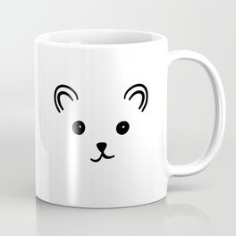 Bear Face Coffee Mug